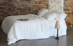 Vida Linen Duvet Cover Set