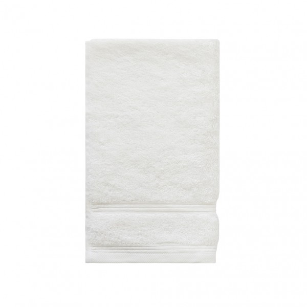 3 Pack Bamboo Guest Towel - White