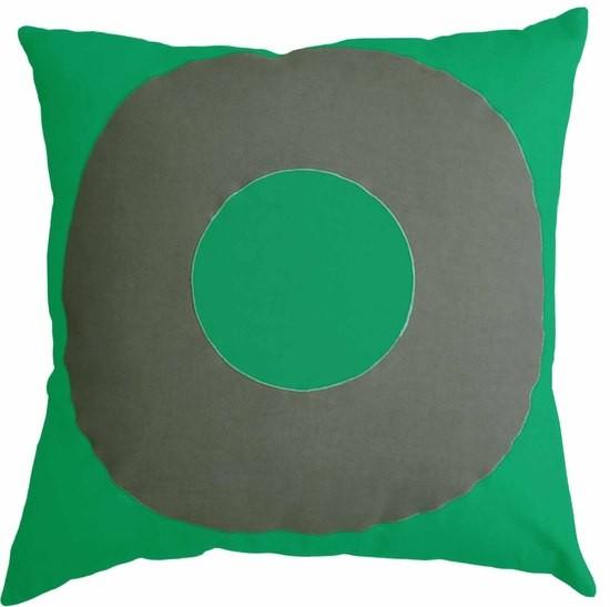 Mulberi TicTacToe Ring Emerald Green Cushion