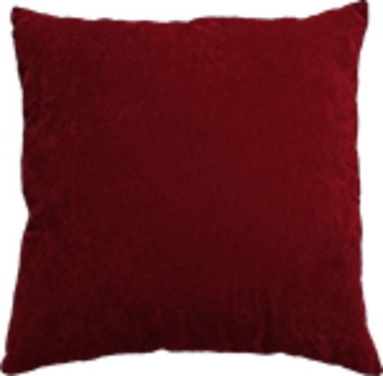 Mulberi Majestic Velvet/Linen Cushion - Ruby