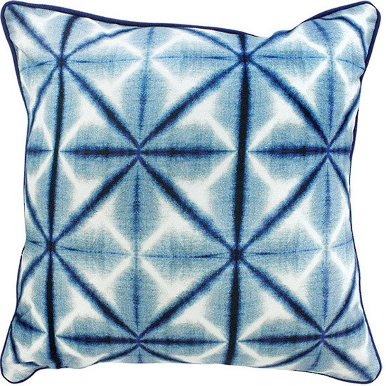 Limon Oriental Reflection - Blue/White Cushion