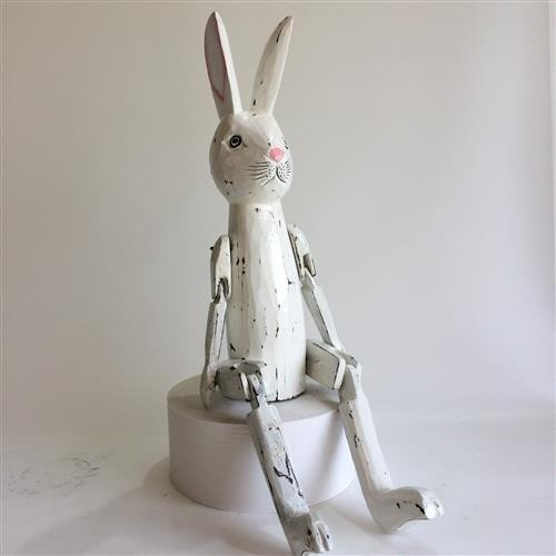 Vintage Rabbit Whitewash