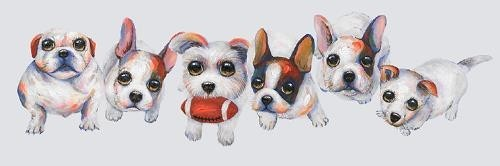 Puppy Play Canvas Art