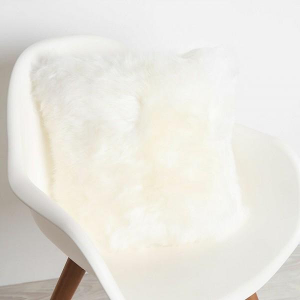 Fibre By Auskin Sheepskin Cushion - Ivory