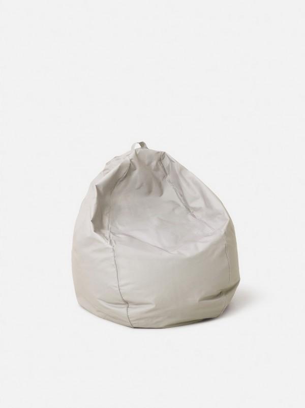 Indoor/Outdoor Grey Bean Bag