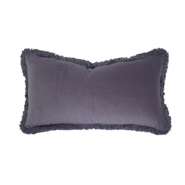 Bambury Velvet Long Cushion - Wisteria
