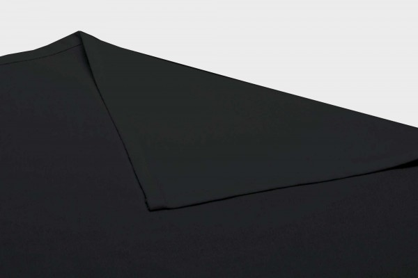 Tablecloth 100% Spun Polyester Black - 5 Pack
