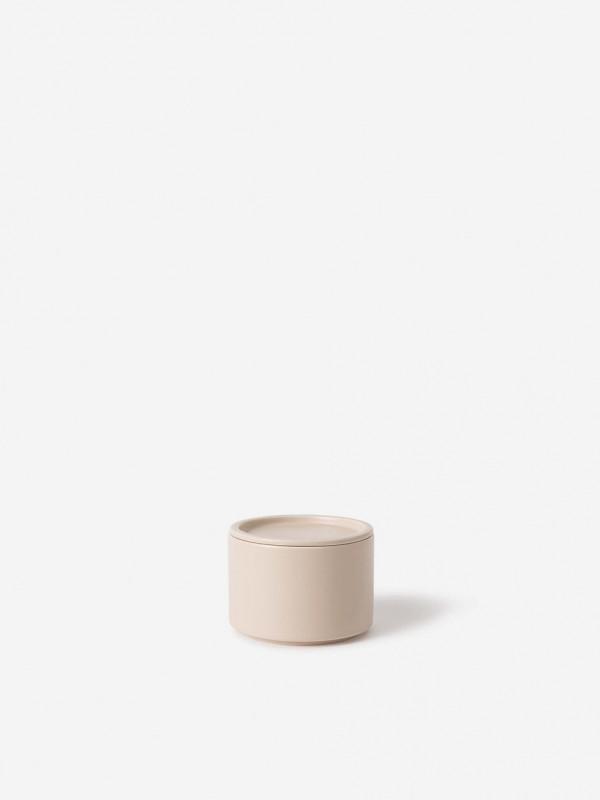 Bower Ceramic Canister Medium  Oat - Set of 2