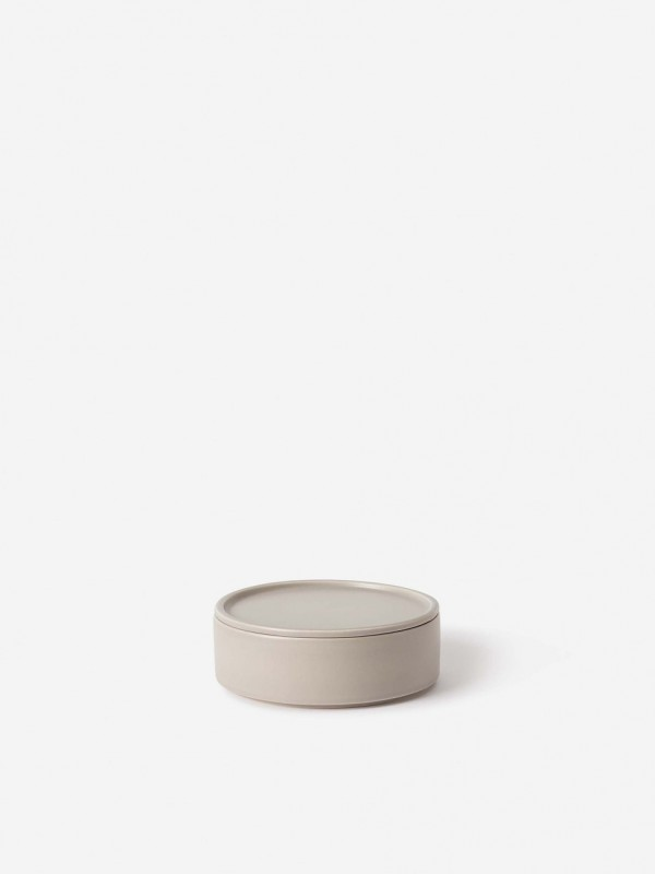 Bower Ceramic Canister Large Oyster
