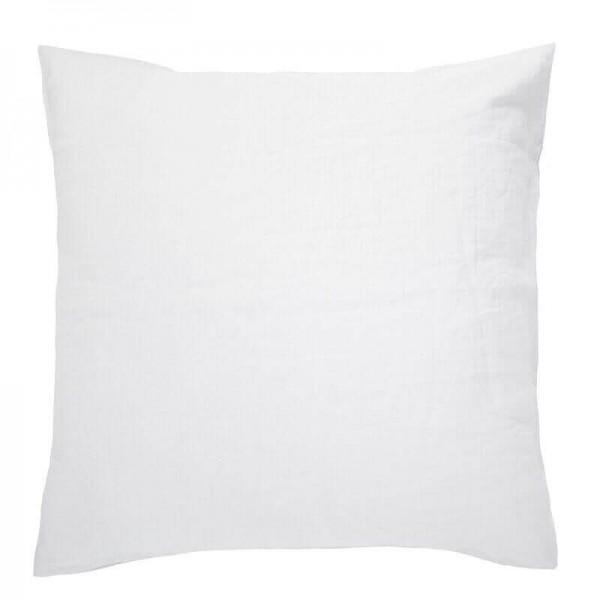 100% French Flax Linen Euro Pillowcase by Bambury - Ivory