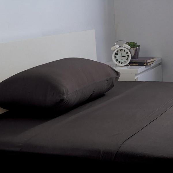 BedT 100% Cotton Sheet Set by Bambury - Black