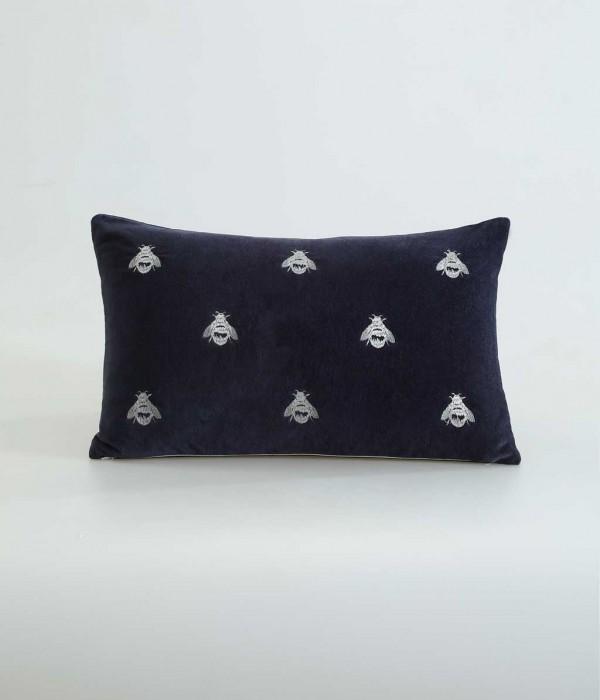 Buzz Long Cushion by MM Linen - Navy