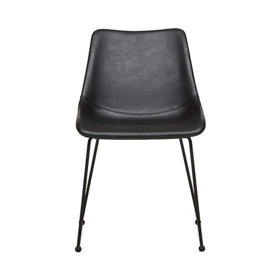 Arnold Dining Chair - Vintage Black PU