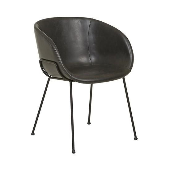 Duke Arm Chair Vintage Black