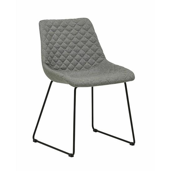 Henri Dining Chair - Black/Grey Speckle