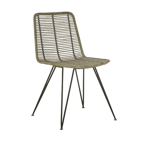 Plantation Bells Dining Chair Grey Wash