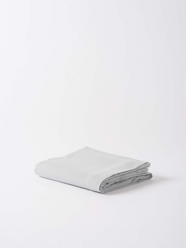 100% Cotton Classic Tablecloth Set of 2 - Grey