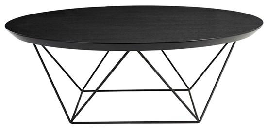 Como Coffee Table Large - Black Oak