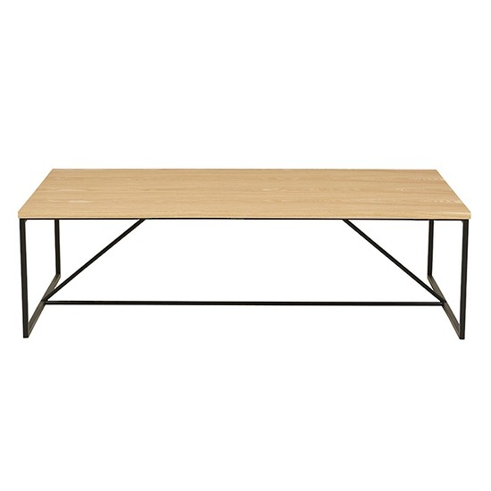 Bailey Coffee Table Natural Ash/Black