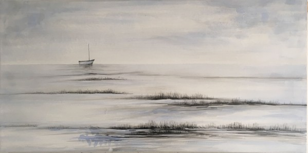Oil Painting Plain Sailing