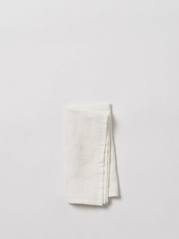 Dine 100% Linen Napkin White - 8 Pack