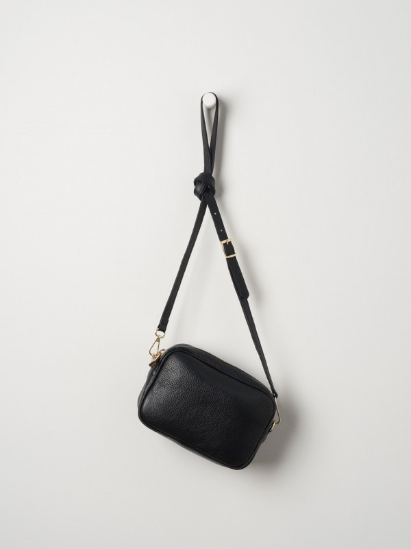 Dixon Leather Handbag - Black