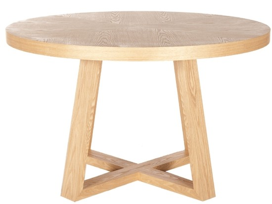 Ascot Round Table Natural