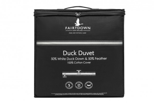50/50 Duck Down & Feather Duvet Inner by Fairydown