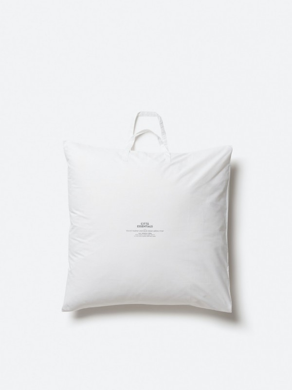 Euro Size Feather & Duck Down Pillow Inner 50/50