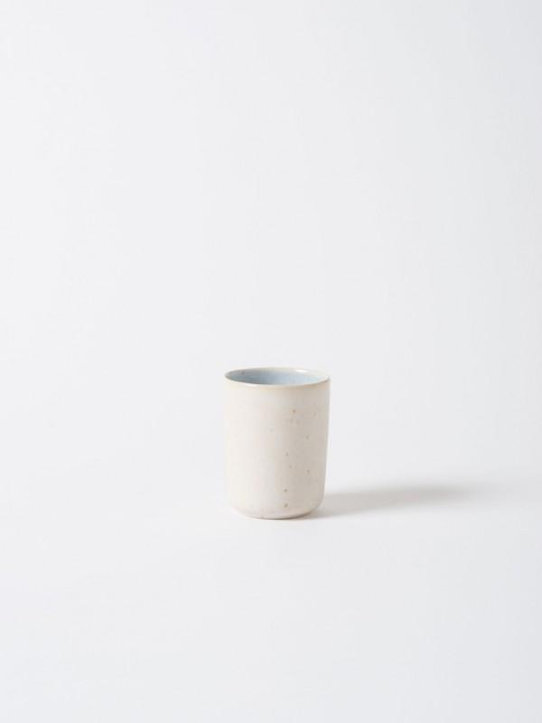 Finch Stoneware Beaker Blue/Natural - Set of 4