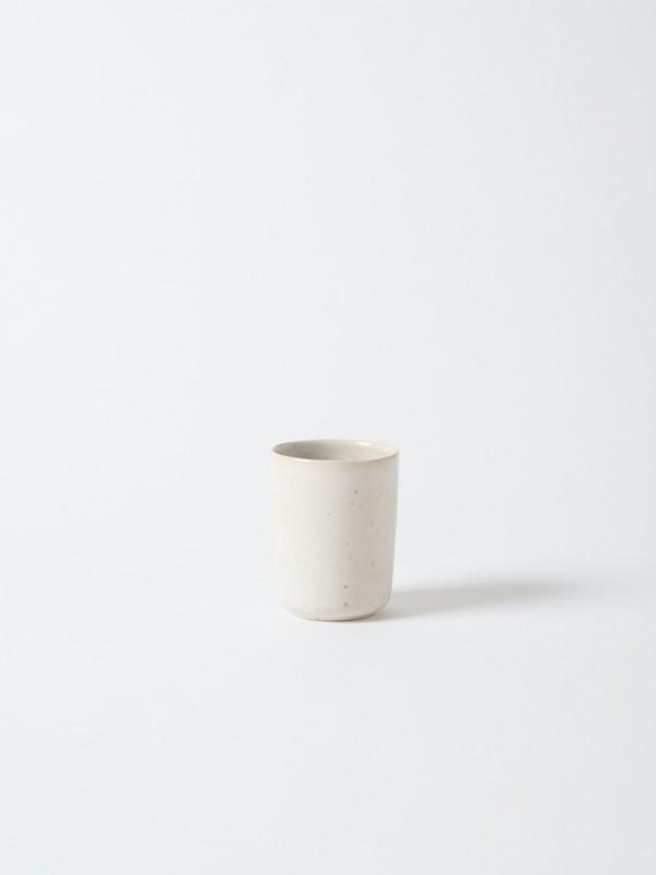 Finch Stoneware Beaker White/Natural - Set of 4