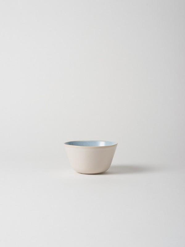Finch Large Cereal Bowl Blue/Natural - Set of 6