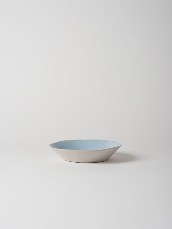 Finch Pasta Bowl Blue/Natural Set of 4