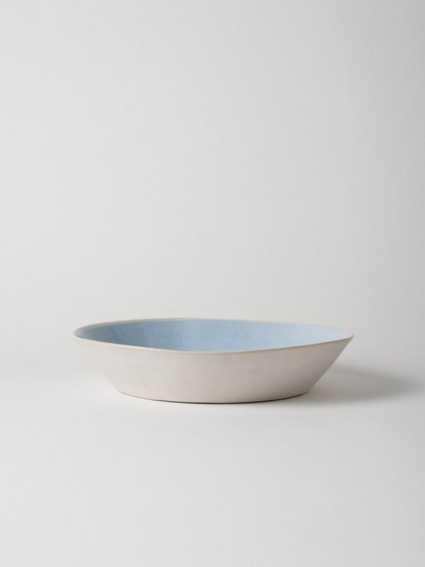 Finch Serving Bowl Blue/Natural - Set of 2