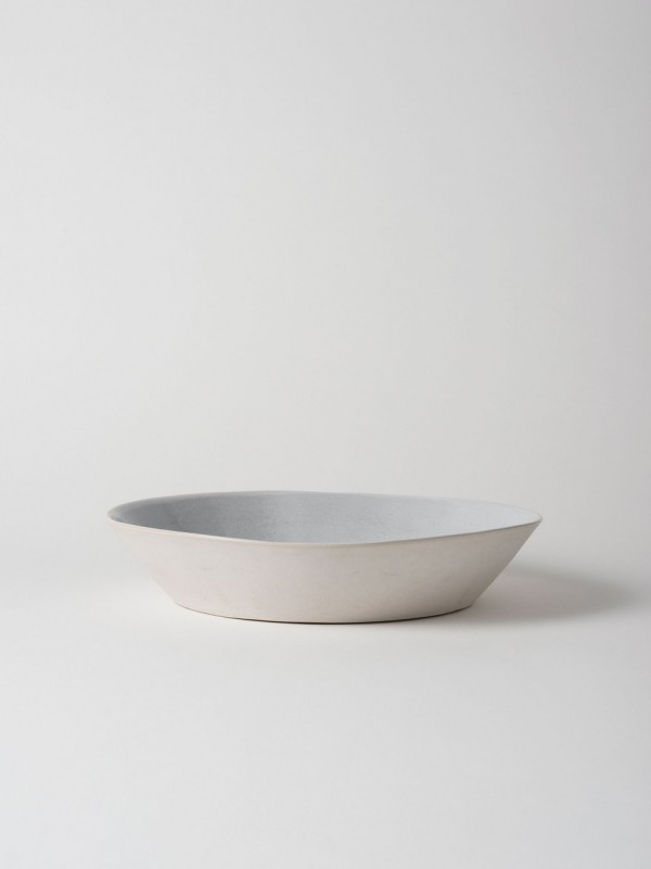 Finch Serving Bowl Grey/Natural - Set of 2