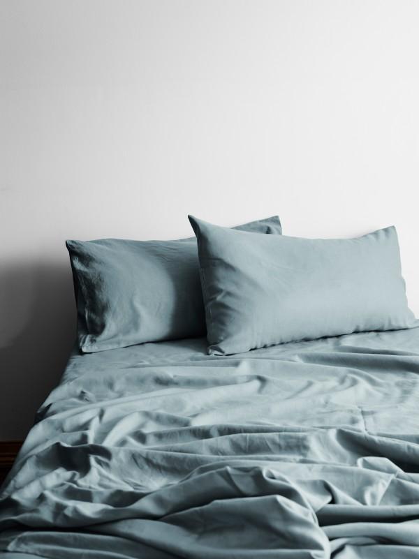 Halo Organic Cotton Sheet Set by Aura - Eucalyptus