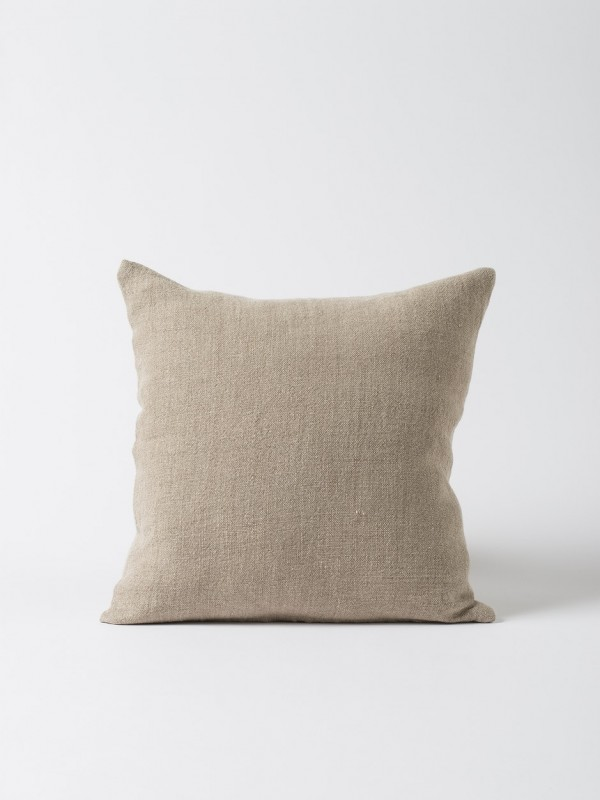 Heavy Linen Cushion Cover Natural - Set of 2