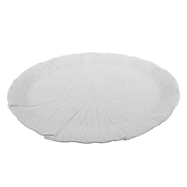 Lotus White Plate