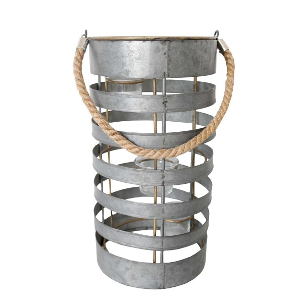 Metal Spiral Candle Holder II