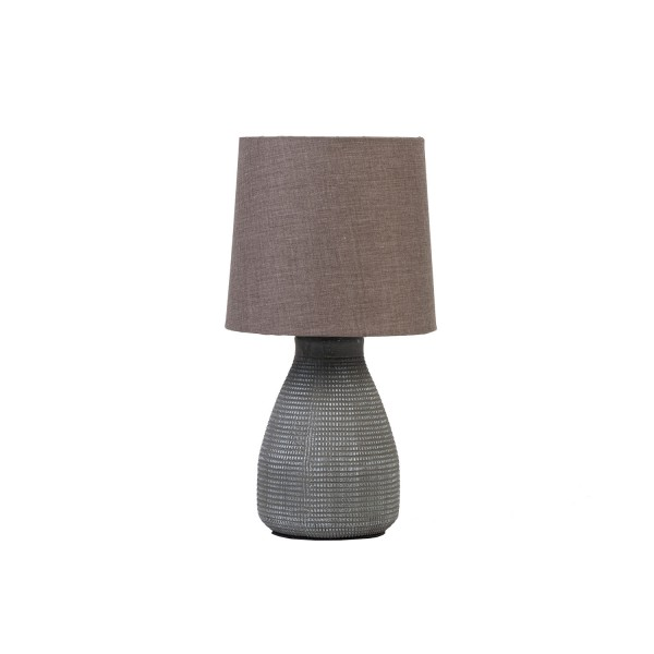 Mesh Lamp with Dark Grey Shade - Set of 2