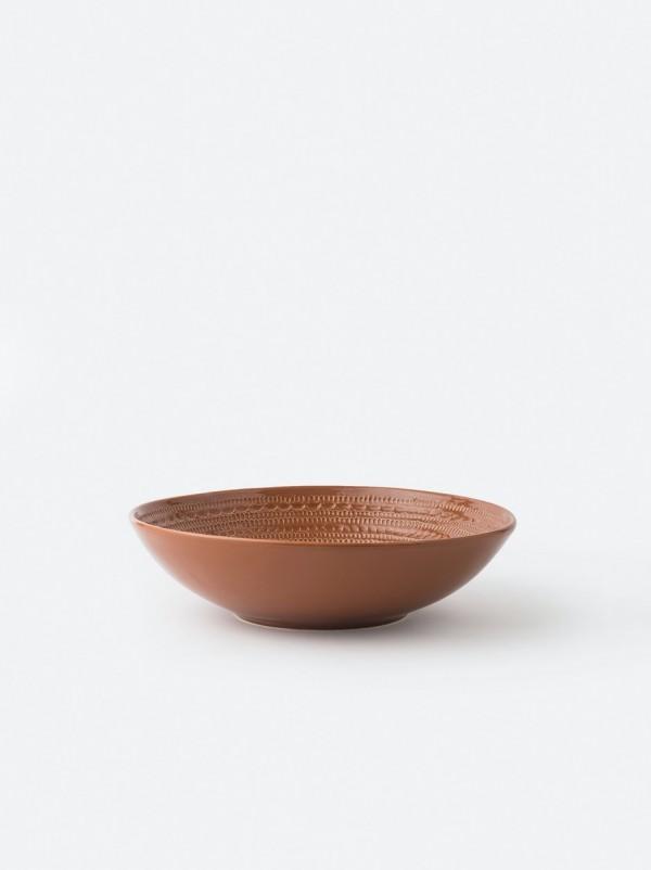 Lagom Round Bowl Large Chestnut