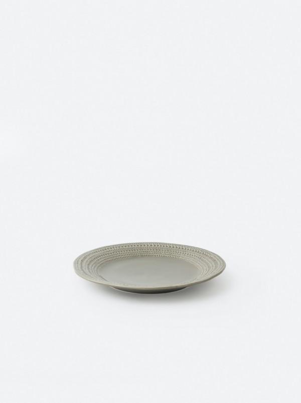 Lagom Round Flat Platter - Matcha