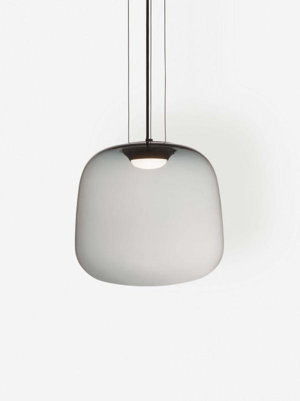 Smoke Grey Pendant Light Large