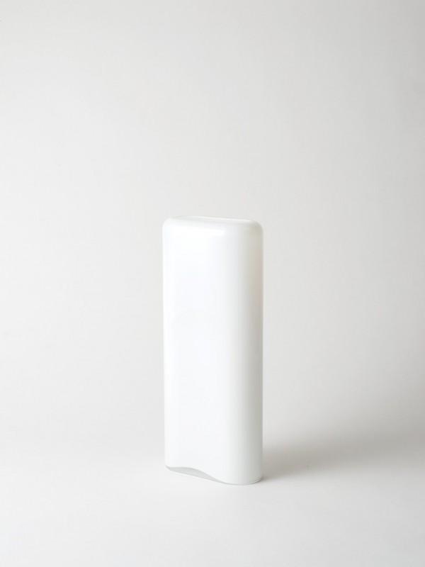 Layers Vase - Opal White