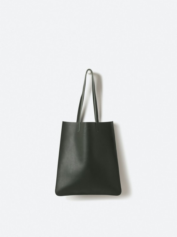 Leather Tote Nori
