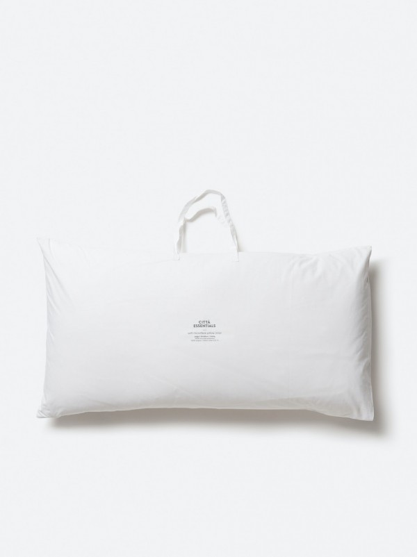 Lodge Size Microfibre Pillow Inner Soft (1200g)