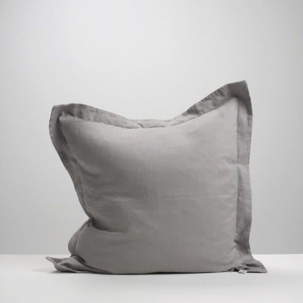 Smoke Linen Euro Pillowcase