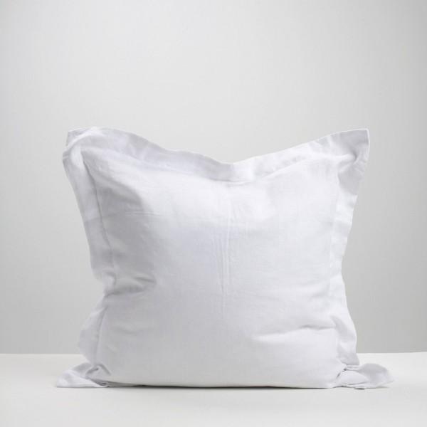 White Linen Euro Pillowcase