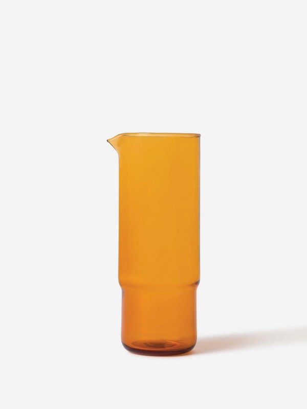 Piccadilly Glass Carafe Amber