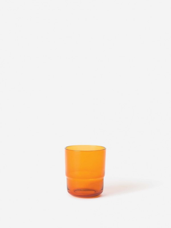 Piccadilly Glass Tumbler Amber - Set of 6